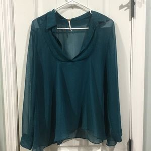 Free people small sheer top